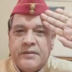कर्नल गोपाल सिंह नव भारतीय किसान संगठन के हरियाणा प्रांत के अध्यक्ष नियुक्त