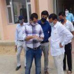 बिजली निगम के अधिकारियों की विधायक राजेश नागर ने लगाई क्लास