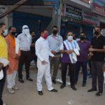 विधायक राजेश नागर ने अखबार हॉकर्स को वितरित किया सूखा राशन