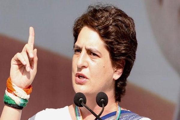 कांग्रेस नेता गिरफ्तार, प्रियंका बोलीं- दूसरी पार्टियों की आवाज दबा सकते हो, पर हमारी नहीं