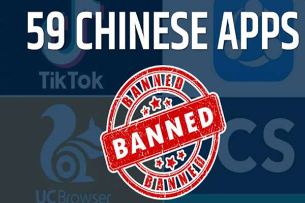 TikTok समेत 59 कौन से चीनी ऐप्स पर लगा है बैन, जानने के लिए पढ़े खबर