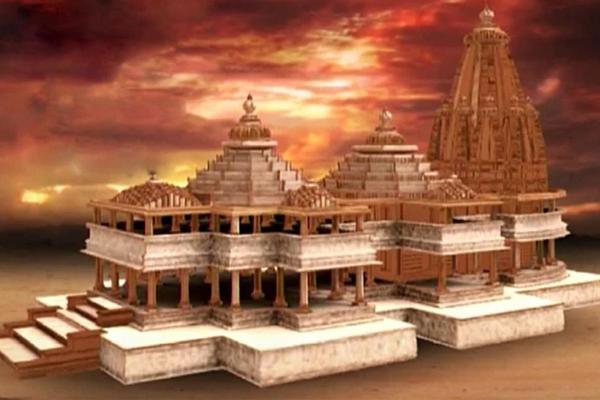 चीन विवाद के चलते टला राम मंदिर के शिलान्यास का कार्यक्रम