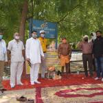 हरियाणा स्टेट बिजली कर्मचारी संघ ने दिया बाबा रामकेवल के धरने को समर्थन