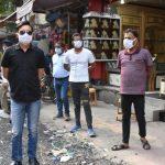 एसडीएम त्रिलोकचंद्र ने बल्लबगढ़ बाजार का किया औचक निरीक्षण