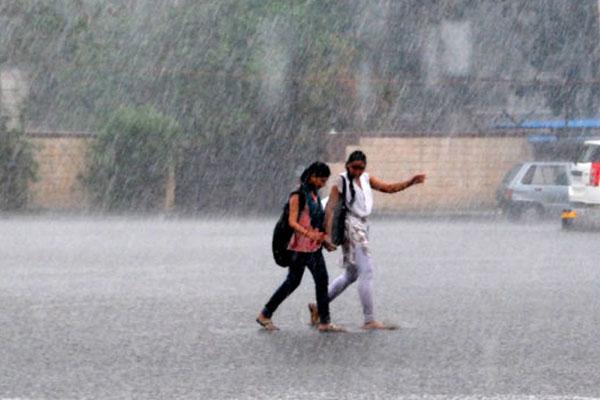 मौसम विभाग के अनुसार उत्तर पश्चिमी भारत में हो सकती है भारी बारिश