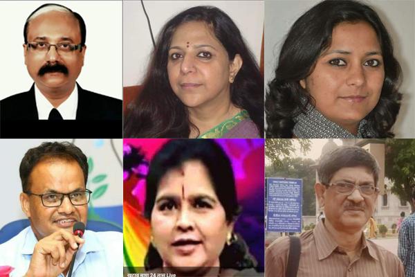 दीपक राय, शीतल करदेकर और सीमा मोहन सचिव नियुक्त किए गए