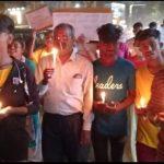 हाथरस घटना पर गोपाल किरन समाजसेवी संस्था द्वारा राष्ट्रपति को ज्ञापन और कैंडल मार्च