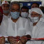 जिले में दूसरे प्लाज्मा बैंक की हुई शुरुआत, केंद्रीय मंत्री कृष्णपाल गुर्जर ने किया उद्घाटन