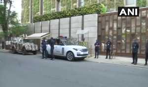 Mukesh Ambani House (मुकेश अंबानी) के घर के बाहर विस्फोटक से भरा एक वाहन