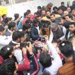केन्द्रीय मंत्री चौ.कृष्णपाल गुर्जर ने भाजपा कार्यकर्ताओं के साथ मनाया जन्मदिवस