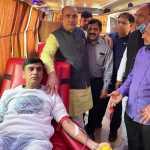 विश्व में रक्तदान से बढकर कोई दान नही है - कैबिनेट मंत्री मूलचंद शर्मा