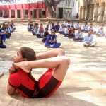 योग साधना से विद्यार्थीयों का शारीरिक मानसिक विकास के साथ तनाव मुक्त होकर बुद्धि का विकास भी होता है : ललित आर्य