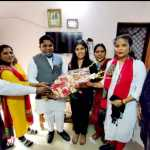 कृतिका शुक्ला की उपलब्धि से पूरा बल्लभगढ़ शहर गौरवान्वित : मनोज अग्रवाल