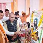 जिसने भी संत शिरोमणि रविदास जी के पद चिन्हों को अपनाया है उनका जीवन सफल हुआ : मंत्री मूलचन्द शर्मा
