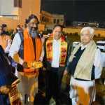 हरियाणा के पूर्व मंत्री विपुल गोयल के घर राम मंदिर के लिए संकल्प समर्पण निधि का कार्यक्रम आयोजित