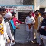 विधायक ने नयनपाल रावत 3 गांवों में किए एक करोड़ 25 लाख के विकास कार्याे का उद्घाटन