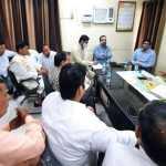 कैबिनेट मंत्री मूलचंद शर्मा ने किया नगर निगम बल्लभगढ़ का औचक निरक्षण