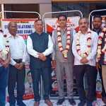 श्रीराम जन्म भूमि निधि समर्पण अभियान के तहत होडल नगर से पन्द्रह लाख रुपए की राशि एकत्रित की गई