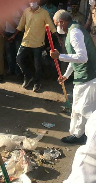 Governor Acharya Devvrat Swachh Bharat Abhiyan in Amreli, Gujarat