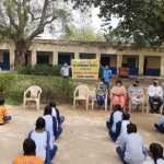भूपानी स्कूल के छात्रों को तनाव मुक्त रहने के टिप्स दिए
