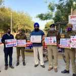 विशेष सड़क सुरक्षा अभियान में लोगों को जागरूक किया