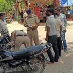 पुलिस ने बिना मास्क के 856 लोगों के किए चालान, 3615 मास्क भी बांटे