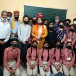 यूपीएससी टॉपर सुबोध जोशी ने मानव सुपर 21 के छात्रों का बढ़ाया हौसला