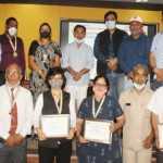 भारतीय रेडक्रास सोसायटी ने सैकड़ों कोरोना वारियर्स, प्लाजा डोनर्स व रक्तदाताओं को किया सम्मानित