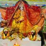 पूर्व मंत्री विपुल गोयल ने NIT-5 स्थित तत्कालेस्वर शिव मंदिर में पहुँच माता रानी के श्रीः चरणों में की ज्योति प्रचंड