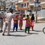 कोरोना को लेकर फरीदाबाद पुलिस अलर्ट, 27982 लोगों के काटे चालान