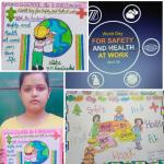 विश्व कार्यस्थल स्वास्थ्य और सुरविश्व कार्यस्थल स्वास्थ्य और सुरक्षा दिवस – निशा और राधा ने कोरोना काल में स्वस्थ रहने के लिए प्रेरित किया