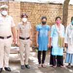 घर से लापता युवती को मात्र 17 घण्टे में पुलिस ने पलवल से किया बरामद