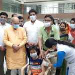 मोदी-मनोहर ने किया वैश्विक महामारी से लोगों को बचाने का काम : मूलचंद शर्मा