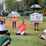 योग हमारी रोग प्रतिरोधक ताक़त बढ़ाता है :बिजेंद्र सैनी