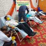 बागपत लायंस क्लब द्वारा लगाया गया रक्तदान शिविर