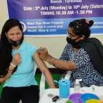 महावैक्सीनेशन सप्ताह अभियान के पहले दिन 115 लोगों ने लगवाई वैक्सीन