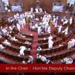 राजसभा में छीनकर फाड़ा गया IT मंत्री का कागज, हरदीप पुरी और TMC सांसद के बीच तीखी नोकझोंक
