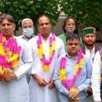 कांग्रेस के राष्ट्रीय नेता विजय कौशिक के हिमाचल दौरे पर प्रदेश कांग्रेस के नेताओं ने किया भरपूर स्वागत