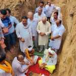 पूर्व मंत्री महेन्द्र प्रताप व सुरेन्द्र शर्मा बबली ने रखी बाबा सूरदास मंदिर की आधारशिला