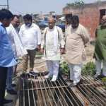 भाजपा नेता टिपरचंद शर्मा ने किया पानी के डिस्पोजलों व बूस्टरों का औचक निरीक्षण