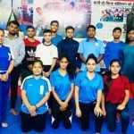 """हरियाणा किकबॉक्सिंग संघ"""" का 99 सदस्यीय दल """"सीनियर राष्ट्रीय किकबॉक्सिंग प्रतियोगिता"""" में भाग लेने के लिए आज गोवा के लिए रवाना हुआ."""