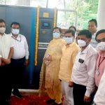 बीके नागरिक अस्पताल में अब मरीजों को नहीं रहेगी ऑक्सीजन की कोई किल्लत : सीमा त्रिखा