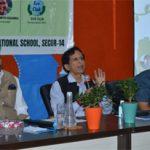 सफलता की ओर 'स्वच्छ स्कूल, स्वच्छ घर' मिशन· सस्टेनेबल कम्युनिटी लिविंग पर वर्कशॉप का आयोजन