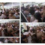 सीतापुर पुलिस लाइन में राहुल गांधी का काफिला, प्रियंका गांधी को किया गया रिहा